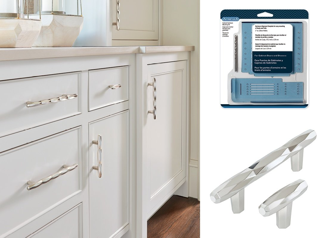 Kitchen Cabinet Hardware Template How To Install Cabinet