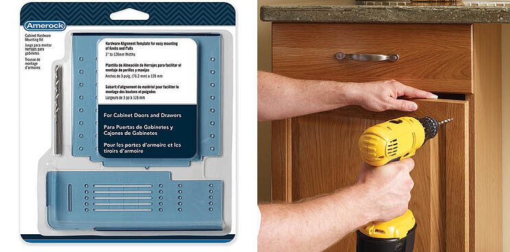 Amerock S Cabinet Hardware Installation Templates Featured In