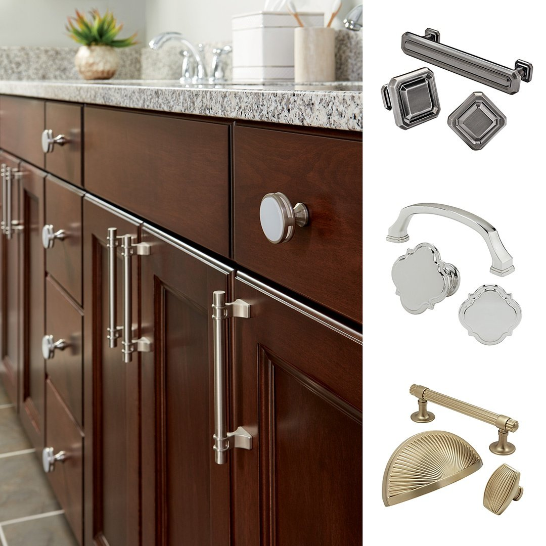 Amerock cabi pulls life style by for Amerock hinges for kitchen cabinets